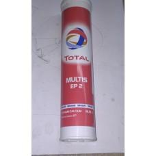 Мастило пл. EP2 MULTIS 0,4 кг TOTAL (туба 0.4кг)