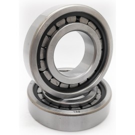 Серия NCL (без бортов на наружном кольце, с двумя стопорными пружинными кольцами) (79)